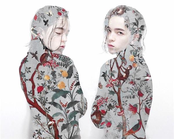 Trong đó, Kelbin Lei sử dụng họa tiết hoa lá, chim muông và những chú khỉ (biểu tượng đặc trưng của năm 2016) phủ đầy lên bức ảnh thời trang khá ấn tượng của mình. Ý tưởng độc đáo trong việc thể hiện vẻ đẹp của họa tiết Tian (thiên đường, bầu trời) của Kelbin Lei đã nhận được lời khen có cánh trên trang chủ của dự án này.