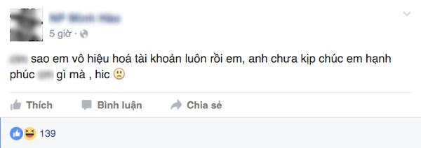 Những dòng status trên Facebook M.H.