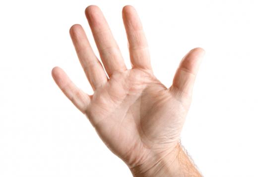 Lòng bàn tay màu trắng chứng tỏ con người khỏe mạnh, lạc quan. (Ảnh: Internet)
