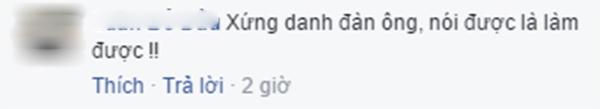Bình luận của M.Đ.T và L. (Ảnh: Ảnh chụp màn hình từ FBNV)