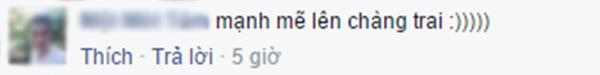 Bình luận của V.M.T. (Ảnh: Ảnh chụp màn hình từ FBNV)