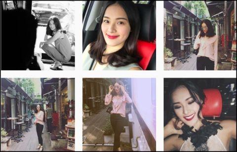 Trang cá nhân của người đẹp chỉ còn những hình ảnh của cô mà không có sự xuất hiện của Cường Đô La - Tin sao Viet - Tin tuc sao Viet - Scandal sao Viet - Tin tuc cua Sao - Tin cua Sao