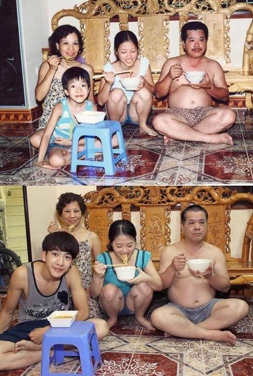 Ai cũng có một gia đình để trở về.(Ảnh: Internet)