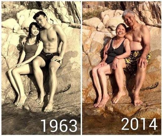 Còn điều gì tuyệt vời hơn một tình yêu trường tồn với thời gian?(Ảnh: Internet)
