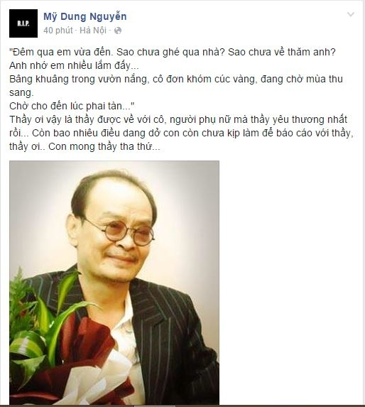 Sao Việt nghẹn ngào tiếc thương nhạc sĩ Thanh Tùng - Tin sao Viet - Tin tuc sao Viet - Scandal sao Viet - Tin tuc cua Sao - Tin cua Sao