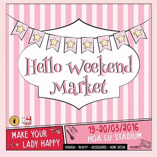 Cùng Hello Weekend Market diện đồ phong cách