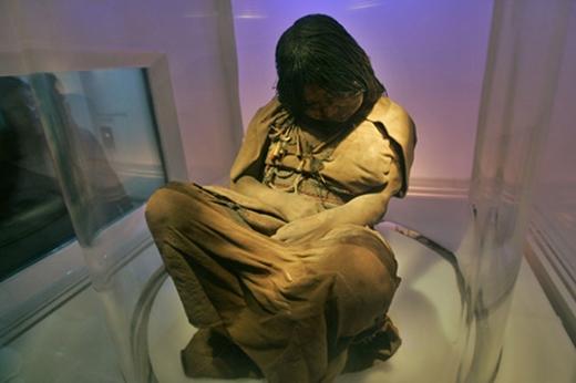 Xác ướp của cô gái giúp các nhà khoa học hiểu hơn về trang phục của người Inca thời đó. (Ảnh: Internet)