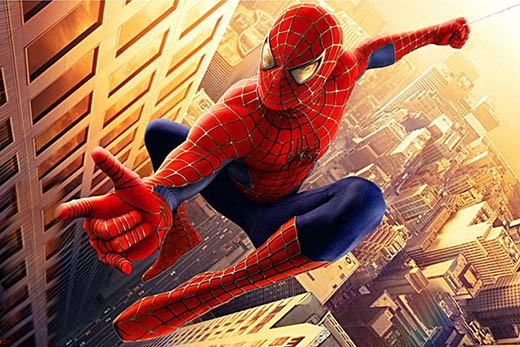 ...giữa thằn lằn Agamavà siêu anh hùng nổi tiếng Spider man. (Ảnh: Internet)