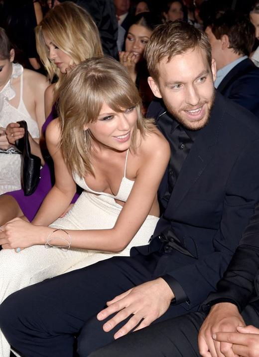 Calvin Harris luôn có mặt trong những sự kiện quan trọng của Taylor Swift.(Ảnh: Internet)