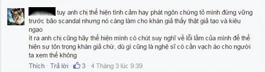 Nhiều bình luận thể hiện sự đồng tình với chủ nhân đăng dòng trạng thái này. (Ảnh: Internet) - Tin sao Viet - Tin tuc sao Viet - Scandal sao Viet - Tin tuc cua Sao - Tin cua Sao