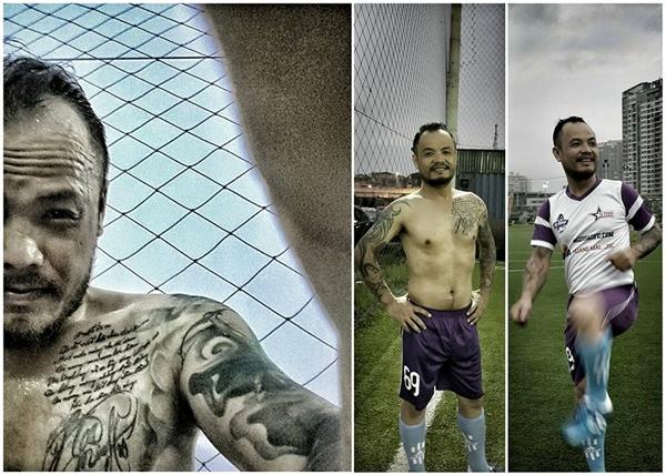 """Lúc còn khỏe mạnh, Trần Lập rất đam mê bóng đá,anh là """"fan cuồng"""" của sân cỏ. - Tin sao Viet - Tin tuc sao Viet - Scandal sao Viet - Tin tuc cua Sao - Tin cua Sao"""