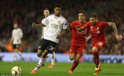 Trận M.U gặp Liverpool sẽ không được phát sóng trên bất kỳ kênh truyền hình nào ở Việt Nam (Ảnh: Getty Images)