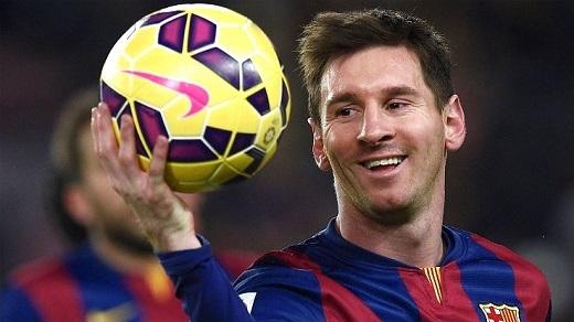 """Messi đang dần tiến vào """"ngôi đền của những huyền thoại"""" (Ảnh: ESPN)"""