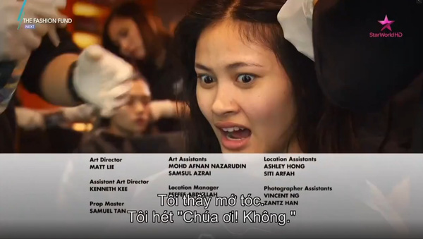 Quỳnh Mai suy sụp khi bị cắt tóc, ám chỉ chương trình bất công - Tin sao Viet - Tin tuc sao Viet - Scandal sao Viet - Tin tuc cua Sao - Tin cua Sao