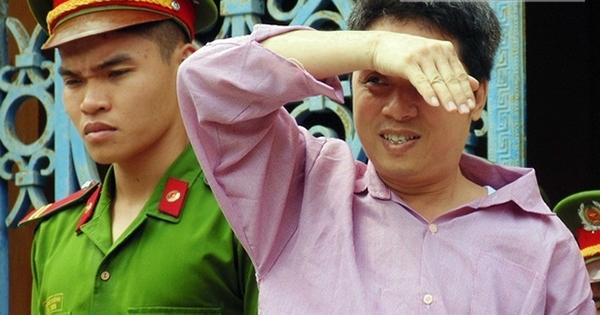 Bị cáo Lã Tấn Huy. (Ảnh: Internet)