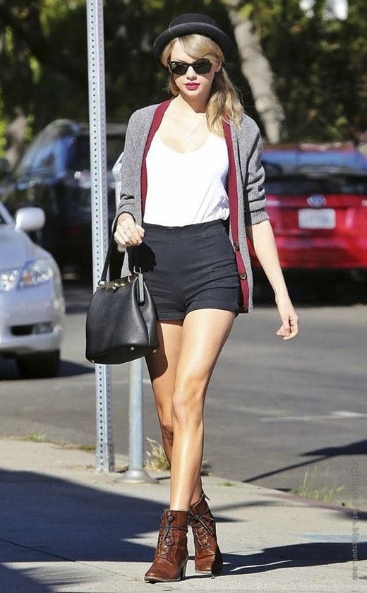 Taylor xinh đẹp với vóc dáng cao kiều, sang chảnh.(Ảnh: Internet)