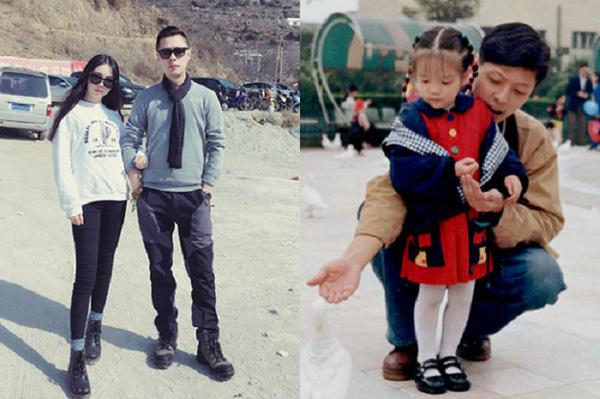 """Hình ảnh ngày ấy - bây giờ với nhiều khác biệt của hai cha con """"tình nhân"""".(Ảnh: Internet)"""