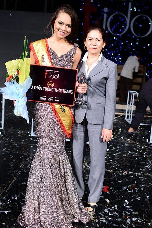 Sỡ hữu chiều cao 1,73m, số đo 3 vòng86-65-97, Quỳnh Mai từng thành công tại cuộc thi F Idol 2012. (Ảnh: Intenet)