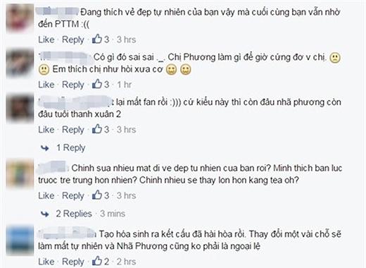Những bình luận cư dân mạng đưa ra gay gắt có mà nhẹ nhàng cũng có. (Ảnh: Internet) - Tin sao Viet - Tin tuc sao Viet - Scandal sao Viet - Tin tuc cua Sao - Tin cua Sao