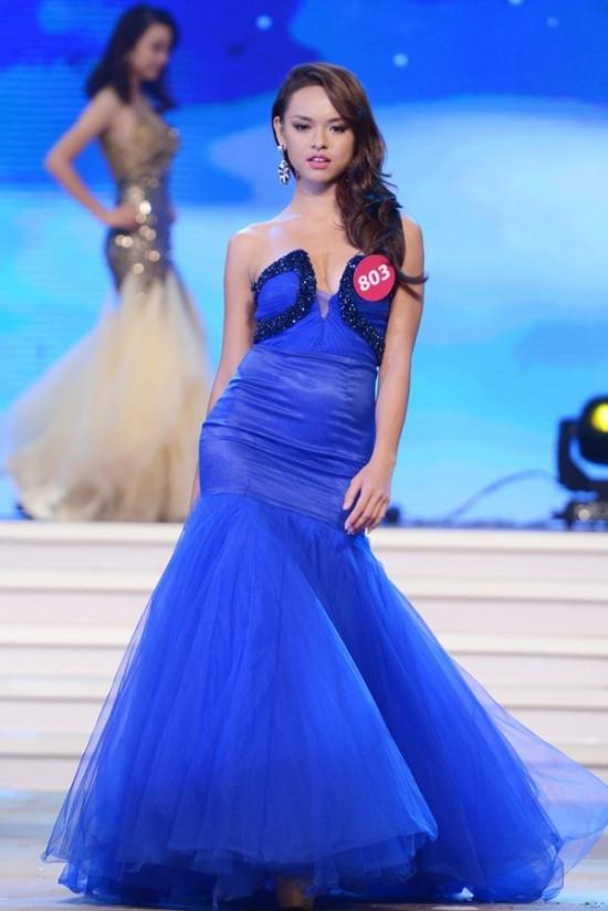 Quỳnh Mai từng loạt vào top 45 của Hoa hậu hoàn vũ Việt Nam 2015. (Ảnh: Intenet)