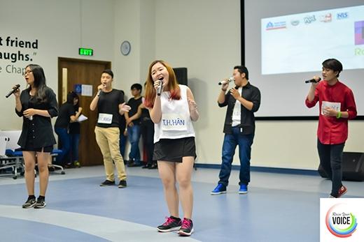 Kịch tính với vòng bán kết cuộc thi Raise Your Voice 2016