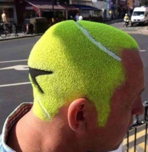 Trái bóng tennis to thế này chắc không bị ai nhầm lẫn đâu nhỉ?! (Ảnh: Internet)