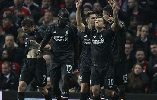 Trận hòa 1-1 đã đem về suất đi tiếp cho CLB Liverpool. (Ảnh: Internet)