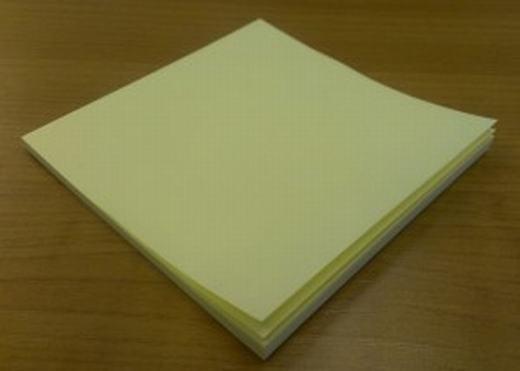 Đây là xấp giấy ghi chú. (Ảnh: Internet)