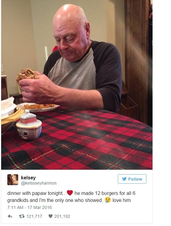 Bức ảnhđược Kelsey đăng tải nhanh chóng thu hút sự chú ý của người dùng mạng.