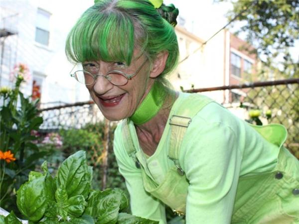 """Tên thật của """"cụ bà xanh lá""""là Elizabeth Eaton.(Ảnh: Internet)"""