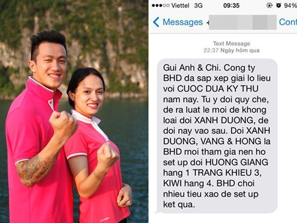 Tin nhắn nặc danh gây sốc trong các show thực tế Việt