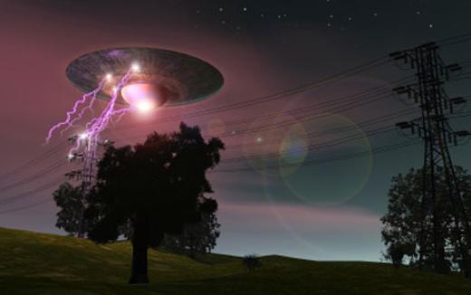 UFO đang tồn tại trên Trái đất? (Ảnh: Internet)