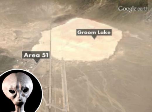 Đây là khu vực từng được ghi nhận có UFO. (Ảnh: Internet)