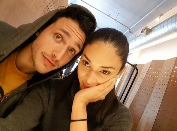 Pia và bạn trai