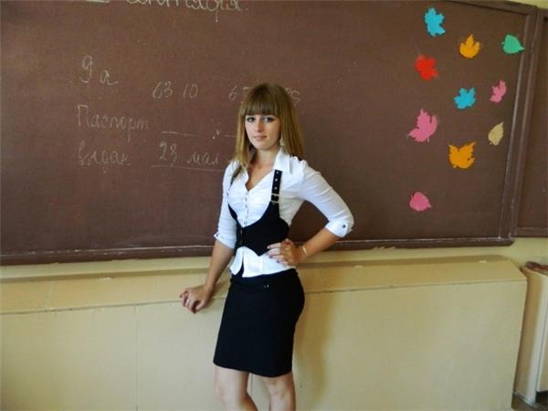 Julia khi còn là một học sinh trung học mảnh dẻ...(Ảnh: Internet)