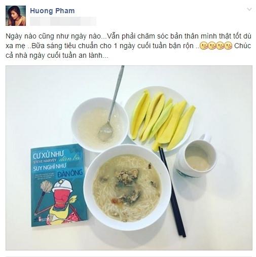 Bữa ăn những ngày không có mẹ cạnh bên của mĩ nhân V-biz. - Tin sao Viet - Tin tuc sao Viet - Scandal sao Viet - Tin tuc cua Sao - Tin cua Sao