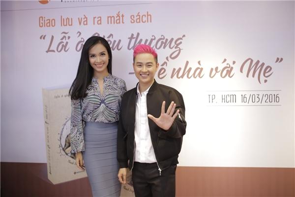 Ca sĩ Thanh Duy và Ái Phương tại buổi họp báo ra mắt single mới - Tin sao Viet - Tin tuc sao Viet - Scandal sao Viet - Tin tuc cua Sao - Tin cua Sao