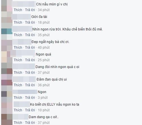 """Người hâm mộ """"mê tít"""" bữa cơm gia đình của Elly Trần. - Tin sao Viet - Tin tuc sao Viet - Scandal sao Viet - Tin tuc cua Sao - Tin cua Sao"""