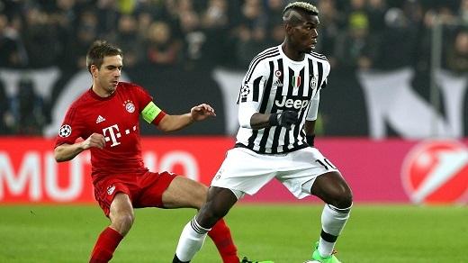 Pogba có thể sẽ rời Juventus với giá gần80 triệu bảng. (Ảnh: Goal.com)