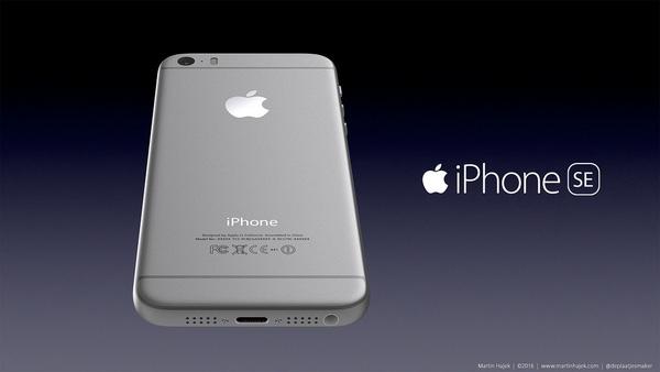 iPhone SE của Martin Hajek vừa làm người ta nghĩ đến iPhone 6s, vừa gợi nhớ đến iPhone 5s.