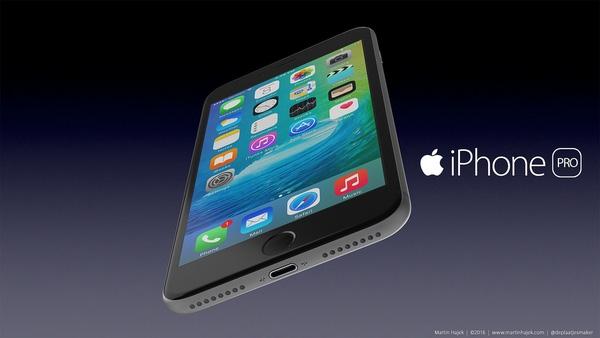 Tương tự iPhone 7, iPhone Pro không có jack cắm tai nghe 3,5 mm. Thay vào đó, máy có hai dải loa.