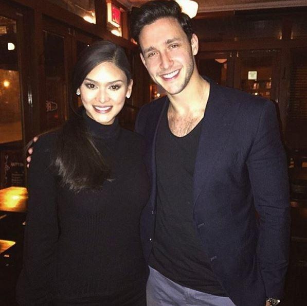 Hình ảnh Dr. Mike và Hoa hậu Pia được chàng bác sĩ chia sẻ