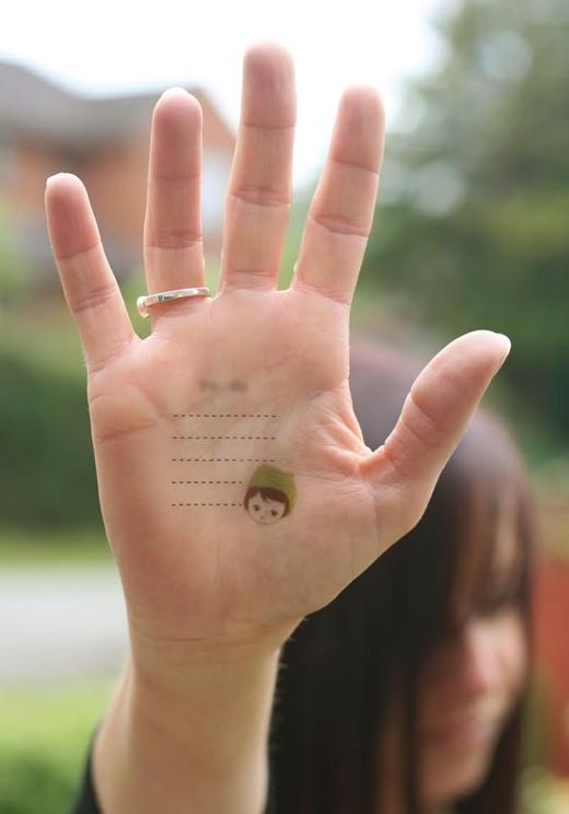 Bạn thích ngón nào nhất trên bàn tay của mình? (Ảnh: Internet)