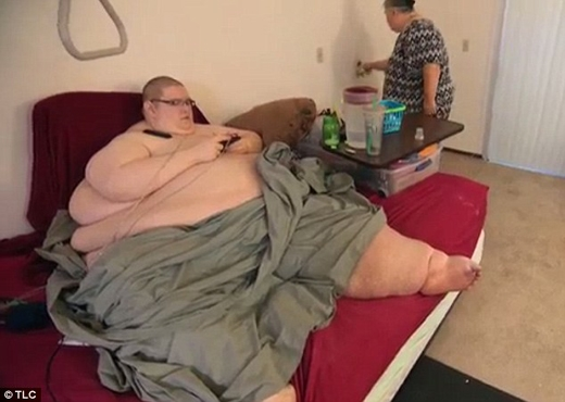 Tất cả những gì Sean có thể làm làđi loanh quanh giường và nhà vệ sinh.(Ảnh: Internet)