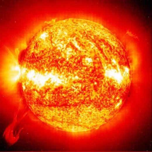 Có phải Mặt trời sáng nhấtvũ trụ? (Ảnh: Internet)