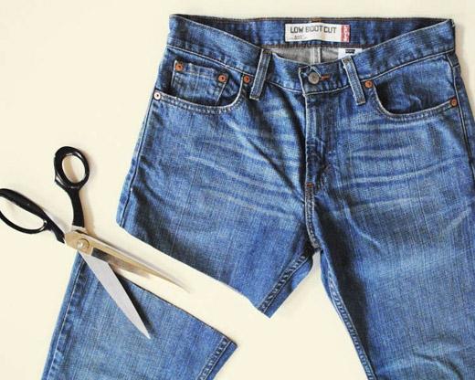 Cắt ngắn một bên quần đang làxu hướng thời trang được nhiều bạn trẻ thế giới yêu thích. (Ảnh: Internet)