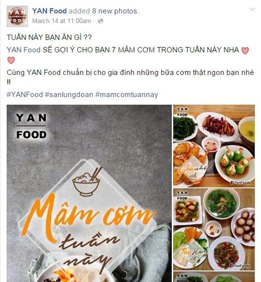 """Với YAN Food, các bạn sẽ không bao giờ phải lo """"Hôm nay ăn gì"""".(Ảnh: Internet)"""
