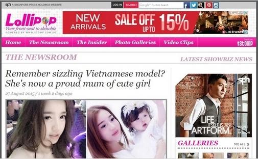 Elly Trần trên báo Singapore - Tin sao Viet - Tin tuc sao Viet - Scandal sao Viet - Tin tuc cua Sao - Tin cua Sao