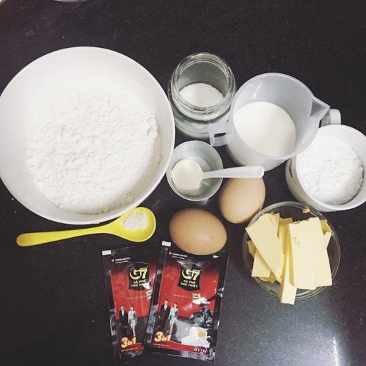 Đây là tất tần tật nguyên liệu để làm những chiếc bánh Papparoti càng ăn càng ghiềnnè! (Ảnh: Internet)