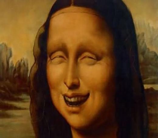 """Kết luận cuối cùng của Mona Lisa là: """"Tôi sẽ còn là nguồn cảm hứng cho nhiều 'Thánh Photoshop' nữa trong tương lai. Mọi người có thể giải tán về nhà rồi đấy."""" (Ảnh: Internet)"""